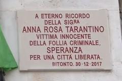 In ricordo di Anna Rosa Tarantino, vittima innocente di mafia