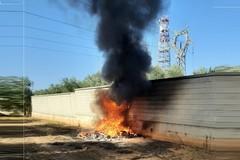 Esplosioni in via Solferino: a fuoco la Lama Balice