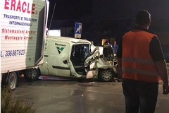Tir contro furgone tra Bitonto e San Paolo: ferite due persone