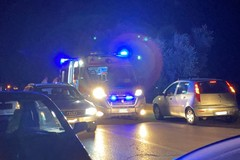 Incidente sulla Bitonto-Giovinazzo: una Fiat Idea finisce in un terreno