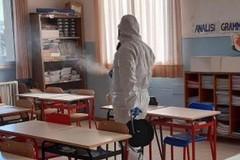 Misure anti-coronavirus a Bitonto: sanificati bus, scuole e uffici comunali