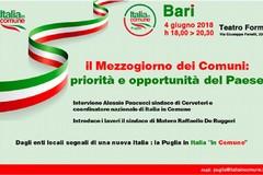 Oggi a Bari prima convention regionale di Italia in Comune