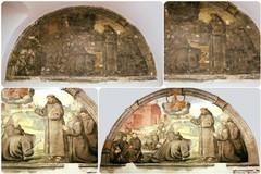 Affresco recuperato nel convento dei Cappuccini: la lettura storica del professor Pice