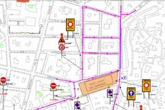 Nuova viabilità a Bitonto attorno a piazza Caduti: i dettagli