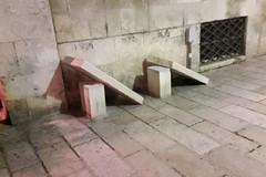 Beccato dalle telecamere a Bitonto uno dei vandali di capodanno