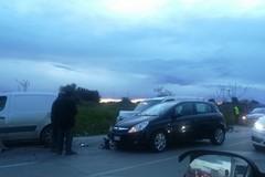 Tamponamento a catena sulla strada provinciale 231: 4 vetture coinvolte