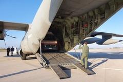 Neonato di Bitonto in pericolo di vita in volo con un C130 fino a Roma
