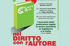 Filippo Palmieri presenta domani a Bitonto il suo libro sulla professione legale in forma societaria