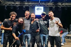 Matteo Palermo al Teatro Ariston per il Sanremo Rock Festival