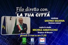 Domani il sindaco Abbaticchio risponde in diretta ai cittadini su Amica9