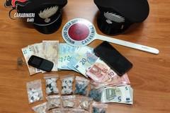 Trovato con cocaina ed eroina: arrestato un 23enne