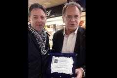 """Il bitontino Pasquale Fallacara vince il premio """"Alberoandronico per la cultura"""" in Campidoglio"""