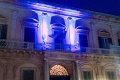 Giornata mondiale disturbi alimentari: Palazzo Gentile s'illumina di lilla