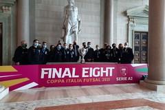 Il sindaco metropolitano Decaro riceve la Polisportiva Bitonto vincitrice della Coppa Italia