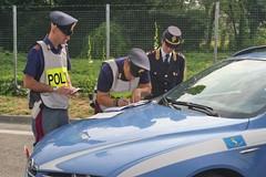 Auto rubate e reimmesse sul mercato, controlli a tappeto della Polizia Stradale