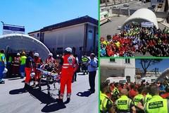 BitontoGetOut: più di 500 persone per l'esercitazione dell'IISS Volta-De Gemmis che simulava maxi emergenza