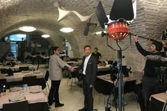 Il centro storico di Bitonto diventa un set per lo spot del CNO sull'extravergine che viaggerà in Cina e Taiwan