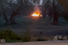 Incendi a raffica in via Amm.Vacca: Bitonto invasa dai fumi tossici