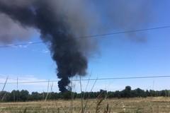 Incendio ecoballe tra Palo e Bitonto: dalle analisi risultati confortanti