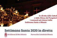 La Settimana Santa di Bitonto in diretta Tv e streaming