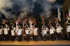 Al Corteo Storico di Bitonto la simulazione di una battaglia del '700