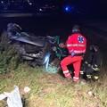 Notte di sangue a Bitonto: due morti in un incidente sul ponte di via Palo