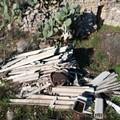Una discarica di amianto nelle campagne di Bitonto