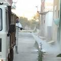Sanificazione strade a Bitonto: concluso il primo ciclo