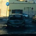 Auto in fiamme stanotte a Bitonto in zona Croci