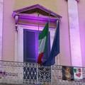 Il Municipio di Bitonto si illumina di viola