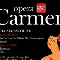 La Carmen di Bizet domani a Mariotto con la guida all'ascolto del Bitonto Opera Festival