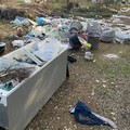 Le festività a Bitonto non fermano gli idioti dei rifiuti