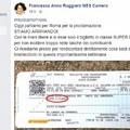 Gaffe social per la neodeputata bitontina Ruggiero: «Viaggio in supereconomy», ma il biglietto è di prima classe