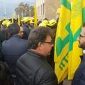I giovani di Coldiretti in protesta davanti all'assessorato pugliese all'agricoltura: «Sbloccate i bandi del PSR»