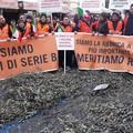 Roma si colora di arancione, la protesta dalla Puglia a Montecitorio