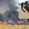 Doppio incendio a Bitonto: ieri a fuoco un'altra discarica di rifiuti tossici