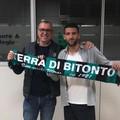 L'Usd Bitonto si rinforza in attacco: preso l'esterno Luigi Falcone