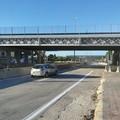Riaperte le 4 corsie sotto il ponte danneggiato di Modugno