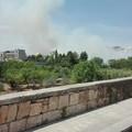 Incendio a Lama Balice