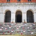 """Violenza sulla donne: una installazione per riflettere all'Istituto  """"Maria Cristina di Savoia """""""