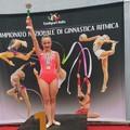 Ginnastica ritmica, successo per Claudia Pice a Pineto