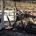 Ritrovate due auto incendiate nell'agro di Palombaio