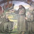 VIDEO - Torna a splendere nel convento dei Cappuccini l'antico affresco di San Francesco