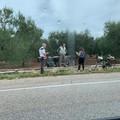 Si ribalta con l'auto sulla Bitonto-Palese: ferite due persone