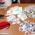 Droga per decine di migliaia di euro nel centro storico di Bitonto: arrestate due persone
