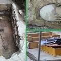 Dal cantiere di Piazza Caduti spunta una tomba di 2mila anni fa