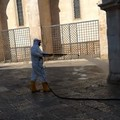 Mercoledì a Bitonto nuovo lavaggio strade e marciapiedi