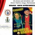 Stasera a Bitonto si ride con Kikka Frisini e Piero De Lucia per uno spettacolo carico di solidarietà