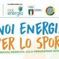 """Anche lo Sporting a  """"Noi energia per lo sport """""""