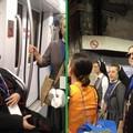 Il vescovo Savino accompagna in Metro i giovani della diocesi dal Papa